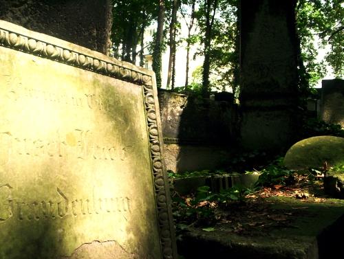 Cementerio Judío. Detalle lápida
