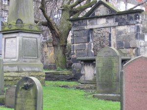 Edimburgo árbol lápidas