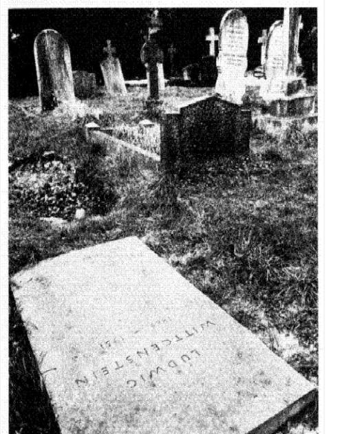 Ludwig Wittgenstein grave